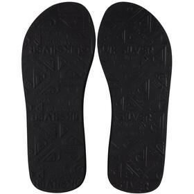 Quiksilver Molokai Layback Sandals Men, azul/negro